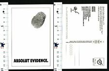 ABSOLUT VODKA - COLLECTION N° 91 - ABSOLUT EVIDENCE. - 56888