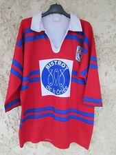 Maillot rugby TOULOUSE LALANDE AUCAMVILLE XV porté n°13 vintage shirt XL