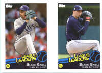 2019 Topps MLB Baseball Sticker #128/130 Blake Snell Tampa Bay Rays