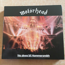 MOTÖRHEAD * NO SLEEP`TIL HAMMERSMITH * 2 CD DELUXE EDITION DIGIPAK * NEUWERTIG *