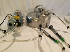 COMPLETE ONE GOAT PORTABLE MILKER (Free Shipping) USA Made *Livestock Supplies