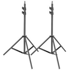 Neewer 2-pack Metal Adjustable 36-79 inch Photography Light Stand for Studio