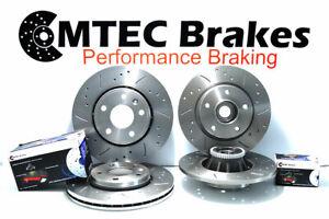Front Rear Brake Discs Pads & Bearing for Nissan Primastar 1.9 dCi 2.0 2.5 dCi