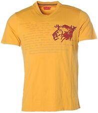 K6806 Signum Herren Kurzarm Shirt T-Shirt V-Ausschnitt Mineral Yellow M
