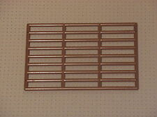 Lego - Brown Bar Grille 9 x 13 Studs (6046)