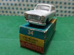 Vintage - Innocenti À / 40 - 1/43 Politoys Aps N°34 - Made IN Italy 1961