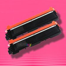 2 BLACK TONER for BROTHER TN210BK TN210 TN-210 HL-3045CN MFC-9120CN MFC-9125CN