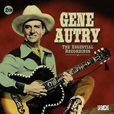 GENE AUTRY THE ESSENTIAL RECORDINGS REMASTERED 2 CD NEW