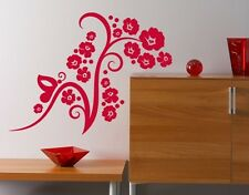 Flower Fascination - highest quality wall decal stickers