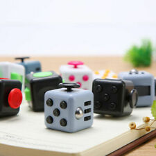 Fidget Cube Spinner Toy Children Desk Adults Stress Pressure Relief Cubes