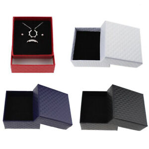 Wholesale Ring Necklace Earring Bracelet Paper Bag Wedding Date Jewelry Gift Box