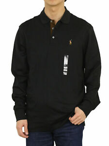 Polo Ralph Lauren Long Sleeve Classic Fit Soft Touch Polo - 4 colors -