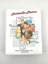 Hooked on Phonics Cassette Tapes Books Cards Games ESL Homeschool Learn to Read