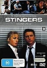 Stingers : Season 3 (DVD, 2007, 6-Disc Set) Very Good Condition