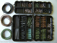 Fishing Tackle box bundle carp safety weight clips hooks swivels Quick links