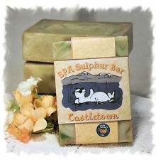 Green Irish Tweed _ Castletown_SPA Sulphur Mineral Soap Made in Montana