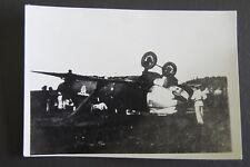 AVIATION, PHOTO AVION CRASH,