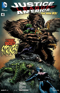 JUSTICE LEAGUE of AMERICA (2013) #4 (New 52) GEOFF JOHNS!!