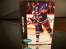 Rare Mark Messier Pro Set Parkhurst 1991 Card #121 New York Rangers NHL Hockey