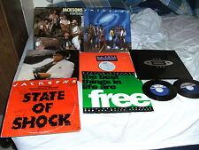 "Michael & The Jacksons vinyl package 2 45's /2 LPs / 5  12"" singles"