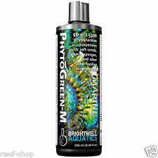 Brightwell PhytoGreen M 250ml Phytoplankton Liquid Coral Food Free USA Shipping