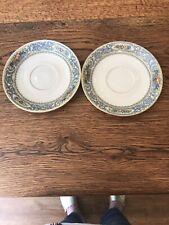 Lenox AUTUMN Set of 2 Saucers ~ Excellent!