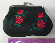 *Snap Shut Coin Purse/Change Bag-4 x 5 inches- double sided