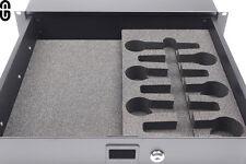 2HE Shure SM58/57 6er Set Schaumstoffeinlage; foam inlay