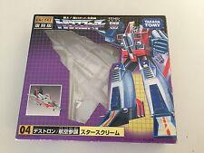 Transformers G1 (empty) BOX/BUBBLE encore 04 STARSCREAM takara tomy