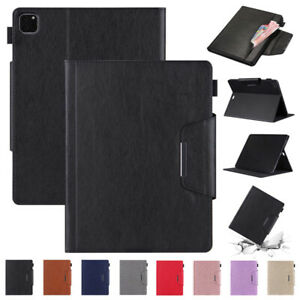 Smart Stand Case Wallet Leather Cover For iPad 5 6 7 8th Gen Mini Air 4 Pro 2021