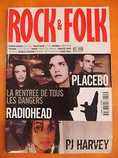 Rock & Folk N° 398 du 10/2000-PJ Harvey-Placebo-Radiohead-Madonna-F.Hardy-Eninem
