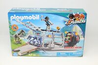 PLAYMOBIL® 9433 Propeller boat with dino cage - NEW 2018 - S&H FREE WORLDWIDE
