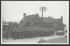 Postcard Penn Amersham Crown pub WW2 Home Guard military Dad's Army printed 1986