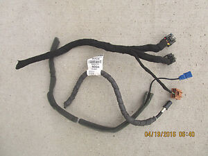 09 SATURN VUE XR 3.6L V6 SFI 4D SUV GPS NAVIGATION CD PLAYER WIRE HARNESS ONLY