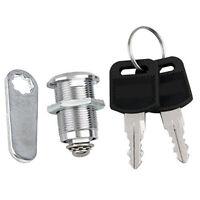 20mm CAM LOCK for Filing Cabinet Mailbox Drawer Cupboard Locker + 2x Secure X9W7