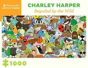 Charley Harper: Beguiled By Wild 1000 Piece - Jigsaw Puzzle