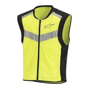 Alpinestars Flare Neon EN471 Certified Motorcycle Motorbike Vest