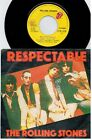 THE ROLLING STONES Respectable 45rpm 7' + PS 1978 ITALY MINT-