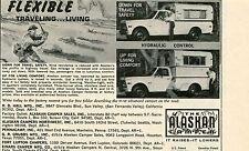 1970 small Print Ad of The Alaskan Camper Pickup Truck Bed
