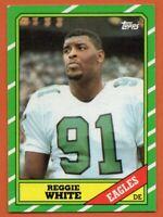 1986 Topps #275 Reggie White ROOKIE RC EX-EXMINT Philadelphia Phillies FREE S/H