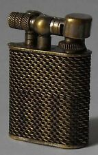 Dunhill Antique Rare and Small Petrol Lighter 40 mm. x 30 mm. aside