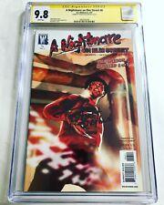 CGC 9.8 SS A Nightmare on Elm Street #6 signed by Robert Englund Freddy Krueger