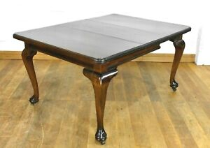 Antique vintage 6 seater wind out extending dining table / kitchen table