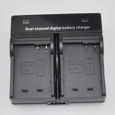 Dual Battery Charger for Panasonic DMW-BLC12e DMC-G7GK DMC-G7KGK DMC-FZ300GKK