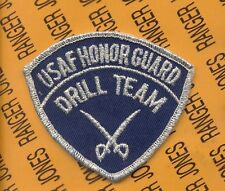 USAF HONOR GUARD pocket patch