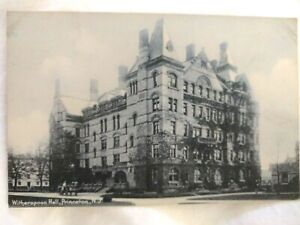 Early 1900s Postcard: Princeton University Witherspoon Hall
