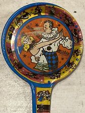 Vintage Tin Noise Maker Masquerade Ball New Year's Eve Party