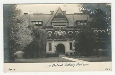 RPPC, Academic or museum building, NATURAL HISTORY HALL, Illinois (?) 1906
