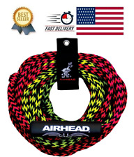 Tube Tow Rope 2 Rider Two Section Float Tubing Water Sports Towable Airhead