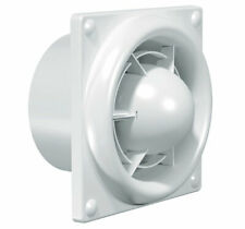 Select 100mm Extractor Fan Compact Axial - Timer & Humidity Sensor